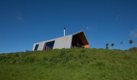 折り紙をヒントに生まれた、ニュージーランドの美しい家