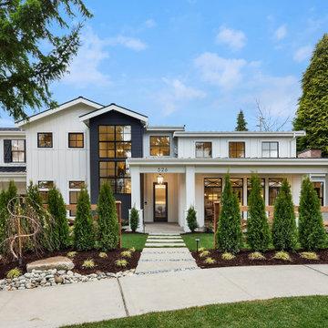 The Dakota - Modern Farmhouse by Enfort Homes