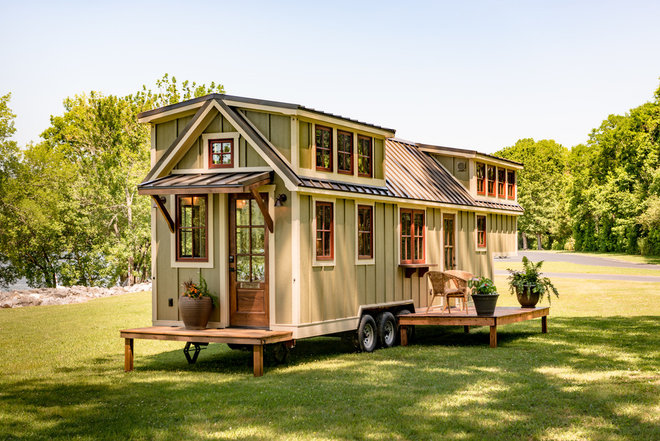 Craftsman Exterior by Timbercraft Tiny Homes