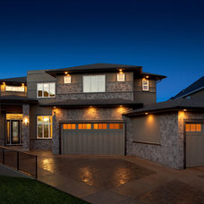 Contemporary Exterior by Prominent Homes Ltd
