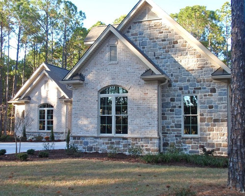 Wondrous Brick Stone Combination Ideas Pictures Remodel And Decor Largest Home Design Picture Inspirations Pitcheantrous