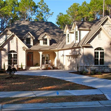Traditional Exterior by W. Epstein Builders