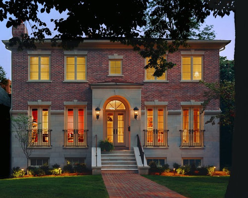 Brick Colonial Exterior Houzz