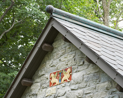 Dog Eared Gable Roof