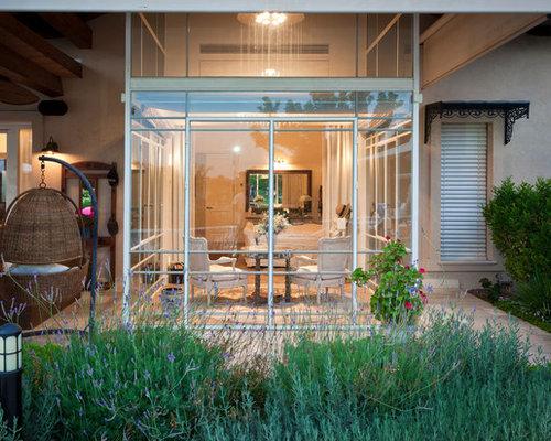 mediterrane h user und fassaden mit glasfassade ideen f r. Black Bedroom Furniture Sets. Home Design Ideas