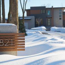 Contemporary Exterior by Clark Design Associates, LLC.