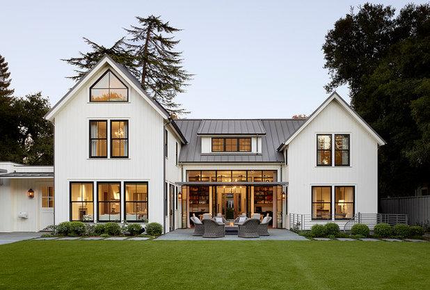 Farmhouse Exterior by Feldman Architecture, Inc.