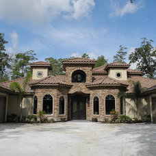 Mediterranean Exterior by Charles Todd Helton, Architect