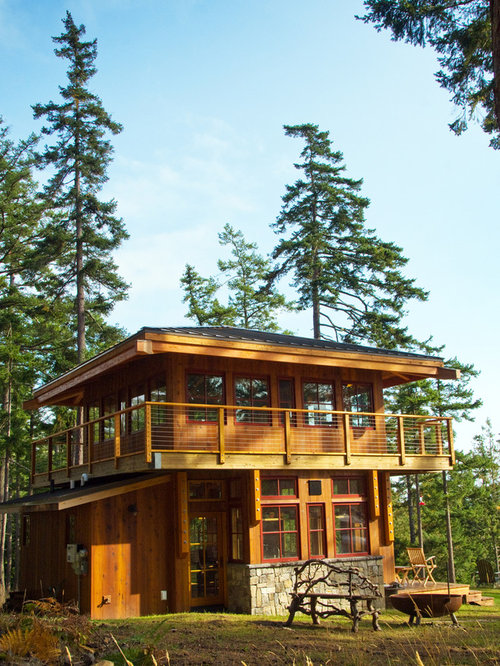 Fire tower home design ideas pictures remodel and decor for Fire tower cabin plans