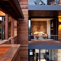 modern exterior by SB Architects