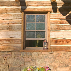 Traditional Exterior by Wild Wood Eccentrics