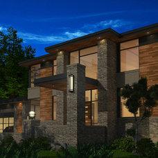 Modern Exterior by Hierarchy Development & Design