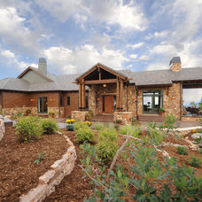 Traditional Exterior by COMITO BUILDING AND DESIGN LLC