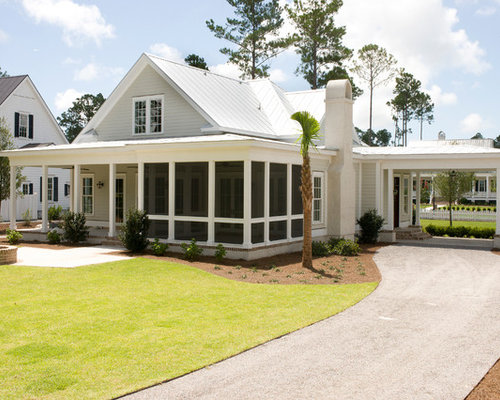 Screen porch carport ideas pictures remodel and decor Sherwin williams march wind exterior