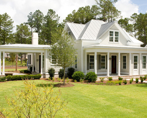 One story homes with front porch home design ideas for Car porch designs for houses