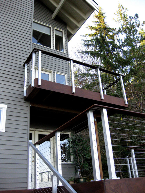 Modern Deck Rail Home Design Ideas Pictures Remodel And Decor