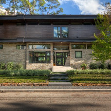 Modern Exterior by Charles Todd Helton, Architect