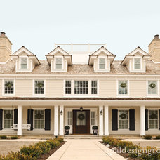 Traditional Exterior by Opal Design Group