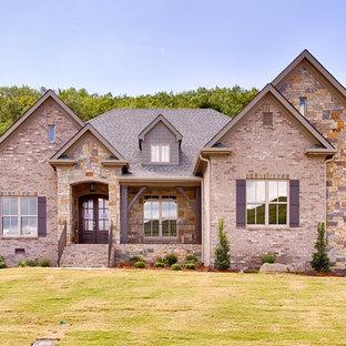75 Most Popular Rustic Brick Exterior Home Design Ideas