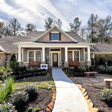 Traditional Exterior by David Weekley Homes