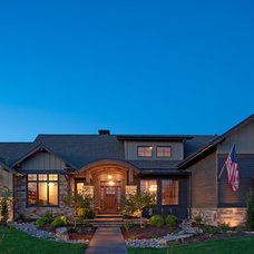 Traditional Exterior by Rentfrow Design, LLC