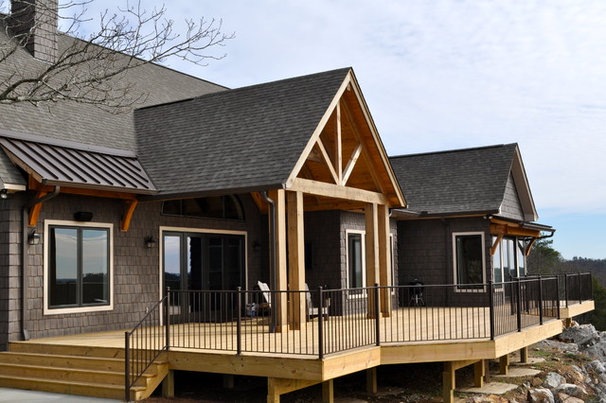 Traditional Exterior by David Acton Building Corp.