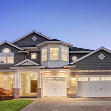 Traditional Exterior by Axiom Luxury Homes