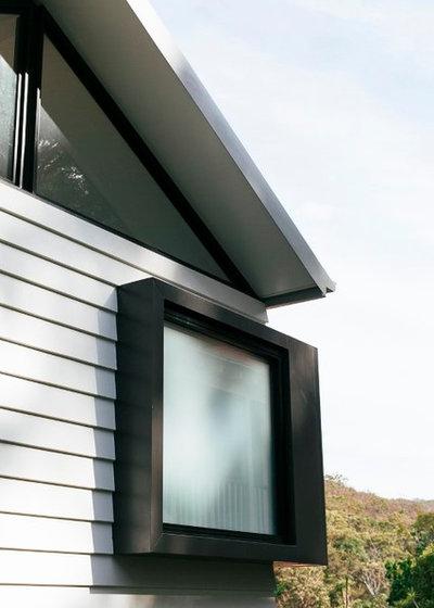 Contemporary Exterior by Emma Holmes Design
