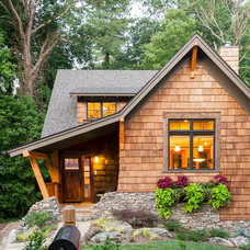 Traditional Exterior by Alchemy Design Studio