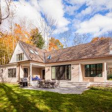 Contemporary Exterior by Phi Home Designs