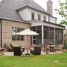 Traditional Exterior by Missy Caulk, Allied ASID