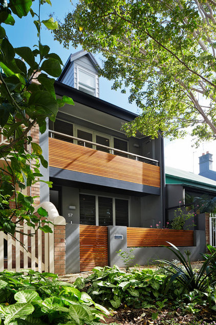 Contemporary Exterior by elaine richardson architect