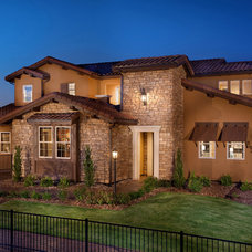 Mediterranean Exterior by Celebrity Communities