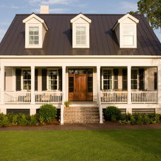 Traditional Exterior by Shoreline Construction and Development