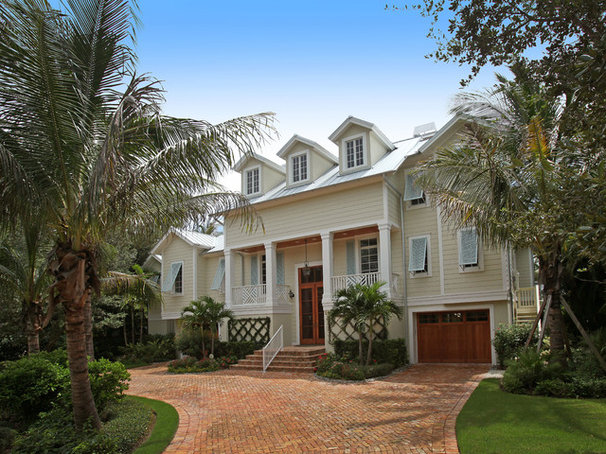 Tropical Exterior by Foresite Homes