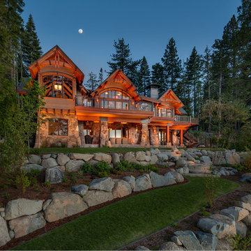 The Parker Family Tahoe Lakefront Compound
