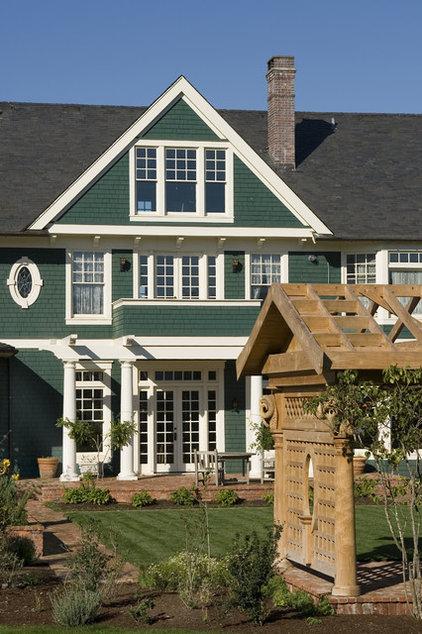 Traditional Exterior by Alan Mascord Design Associates Inc