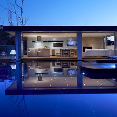 Contemporary Exterior by Dean Herald-Rolling Stone Landscapes