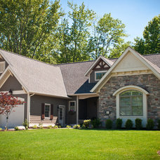 Traditional Exterior by Troxel Custom Homes