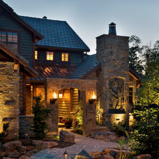 Traditional Exterior by B.L. Rieke Custom Home Builders