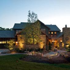 Modern Exterior by B.L. Rieke Custom Home Builders