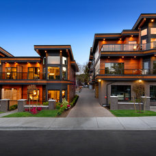 Contemporary Exterior by Jenny Martin Design