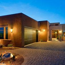Contemporary Exterior by Dove Mountain Homes