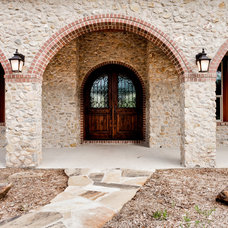 Traditional Exterior by Montgomery Custom Homes