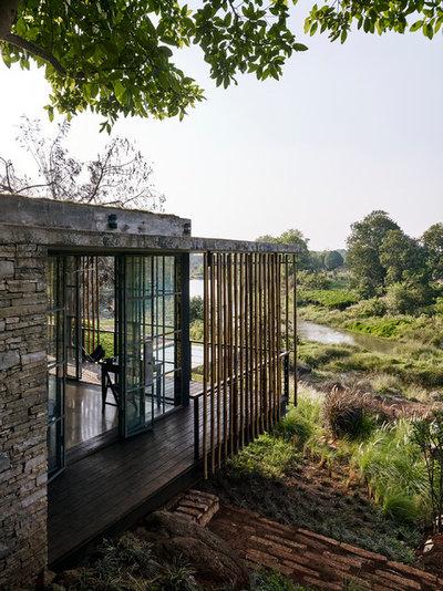 Contemporary Exterior by Architecture BRIO