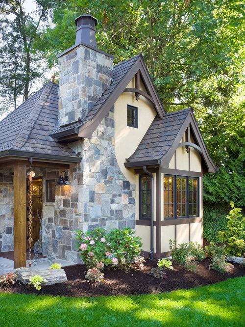 Tudor cottage houzz for English tudor cottage
