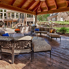Traditional Exterior by Todd Michael Builder Developer, Inc