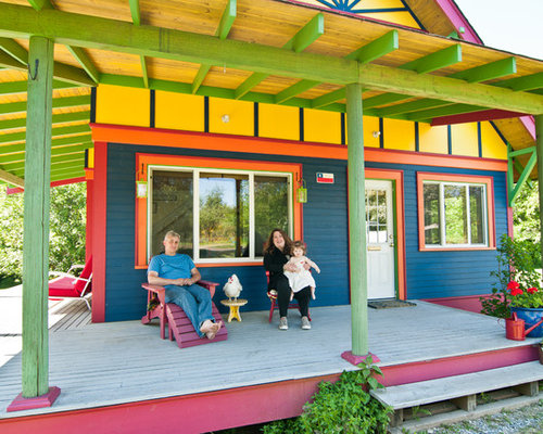 Northwest exterior home colors houzz for Best exterior house paint for pacific northwest