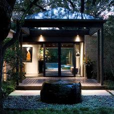 Midcentury Exterior by Bernbaum-Magadini Architects