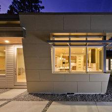 Modern Exterior by DesignHaus
